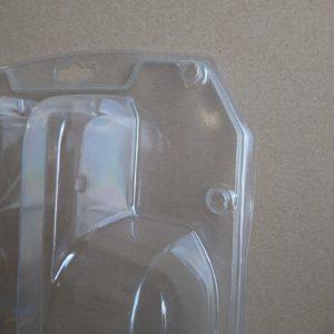 Zgrzewane obustronnie wytłoczki z tworzywa metodą w-cz (tzw. termopak)
