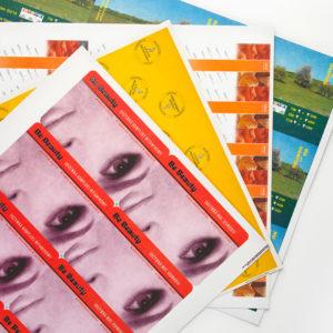 Arkusze: plecki / podkładki / kartoniki do opakowań